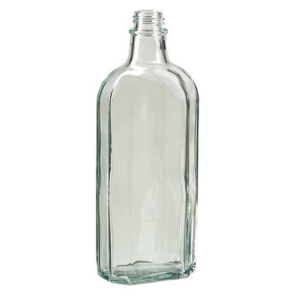250 ml weiße Meplatflasche mit DIN 22 Mündung