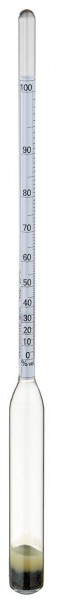 Premium Alkoholmeter ohne Thermometer, ca. 285mm lang