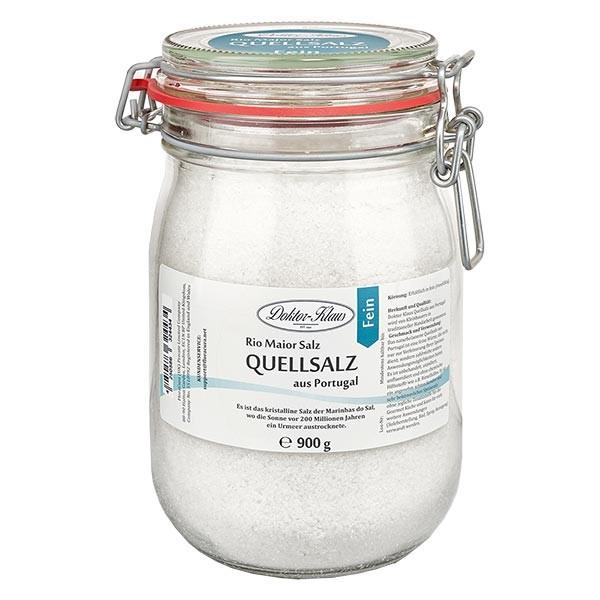 900g Quellsalz (Gourmetsalz) aus Portugal