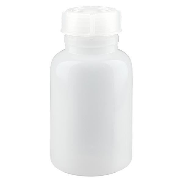 Weithals Laborflasche 250ml mit Verschluss