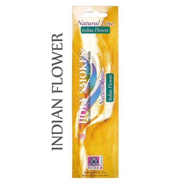 Indian Flower Räucherstäbchen Natural Line (8 Stück)