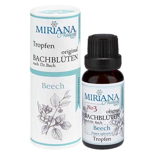 3 Beech, 20ml Essenz (Ohne Alkohol), MirianaNature