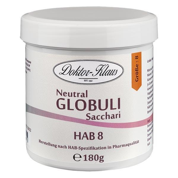 180g Neutral Globuli HAB 8, Doktor-Klaus, 100% reine Saccharose, in Dose mit OV