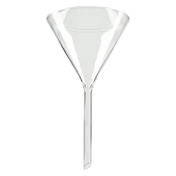 Glastrichter Ø 100mm - Kalk-Soda-Glas - 60° Winkel