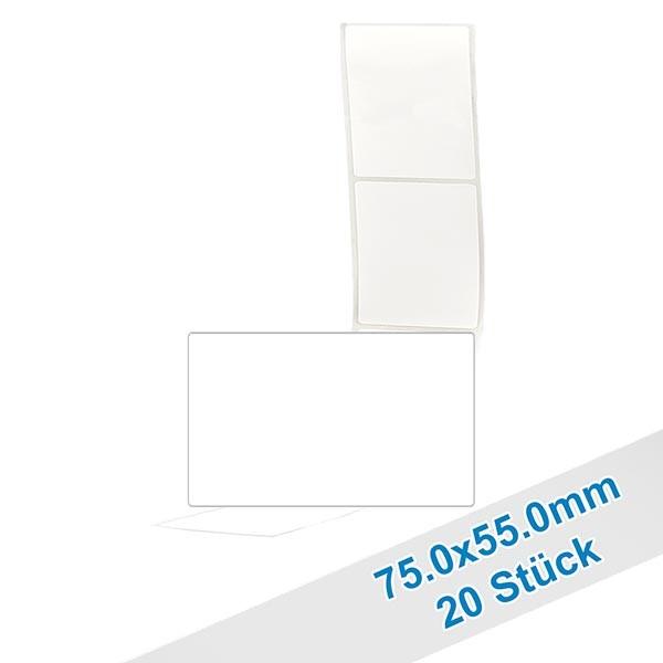20er Pack Etiketten 55.0x75.0mm zum Beschriften