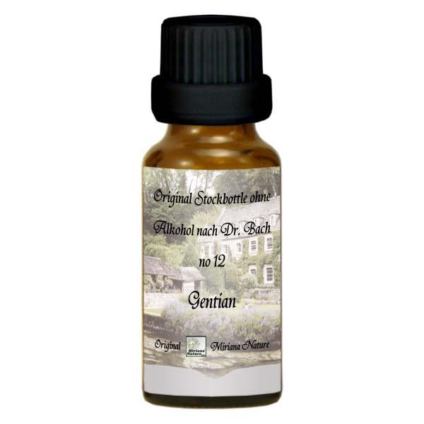 12 Gentian, 20ml Essenz (Ohne Alkohol), MirianaNature