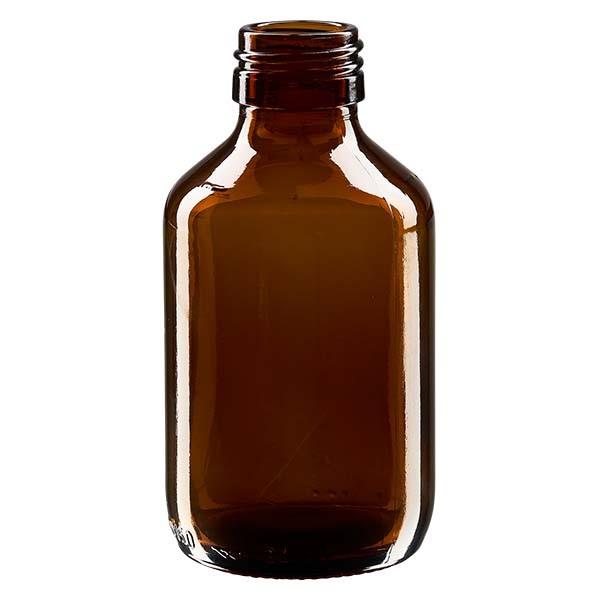 150ml Euro-Medizinflasche braun