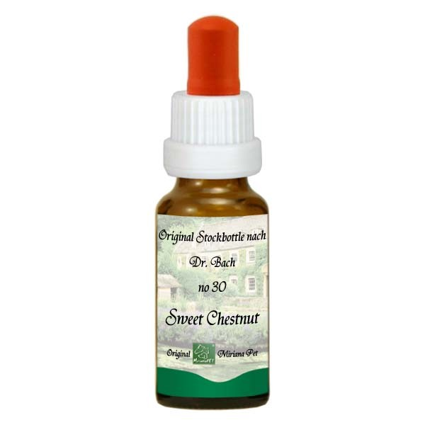 30 Sweet Chestnut, 20ml Stockbottle, MirianaPet.