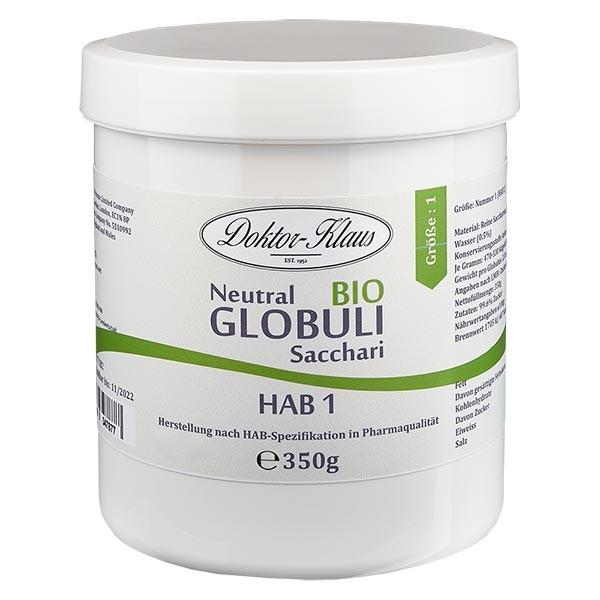 350g Bio Neutral Globuli HAB1 aus 100% reiner Sachharose