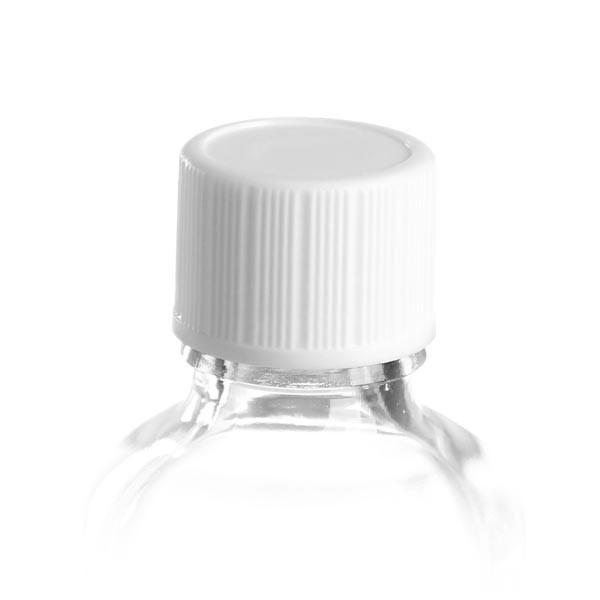 Standard-Schraubverschluss weiss DIN 18 für Glasflaschen mit 18mm Schraubgewinde