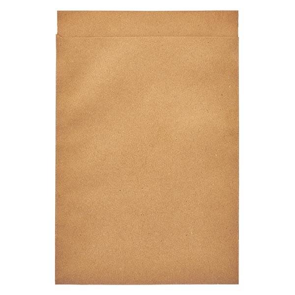 100 Papierbeutel 115 x 160 + 20 mm Klappe