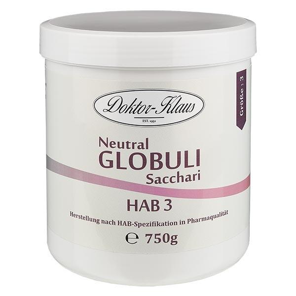 750g Neutral Globuli HAB3 aus 100% reiner Saccharose