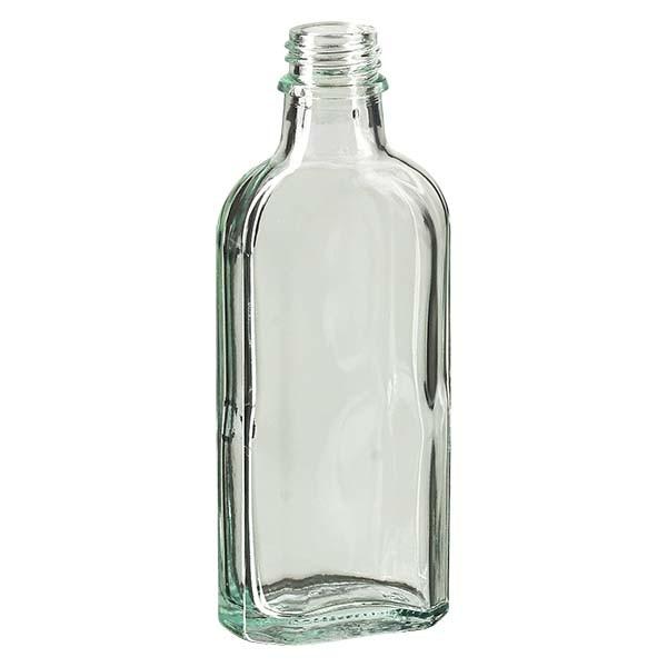 100 ml weiße Meplatflasche mit DIN 22 Mündung