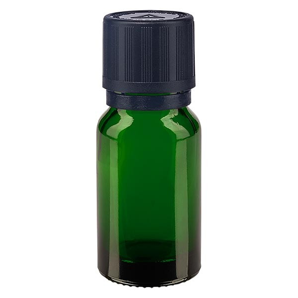 Apotfl. grün 10ml Tropfv. Pr. 1mm s. KiSi Bliw OV