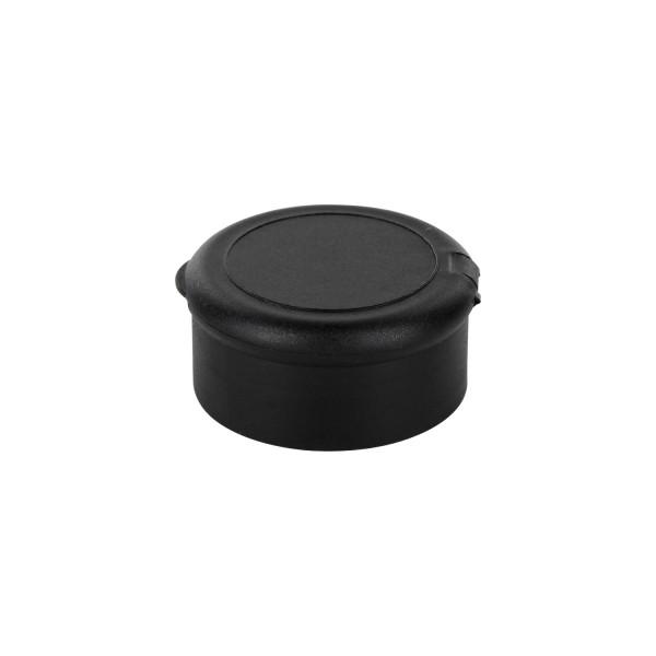 Streuer-Schraubverschluss aus PC schwarz, 19-Loch Streuer fein, 41mm, Standard
