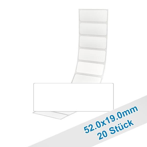 20er Pack Etiketten 52.0x19.0mm zum Beschriften