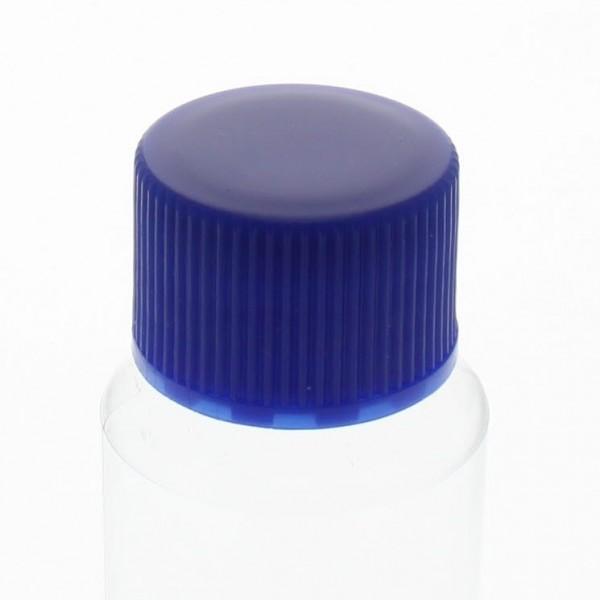 Schraubverschluss blau mit PE Einlage, S20x3
