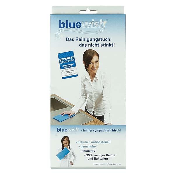 Bluewish. Das Reinigungstuch, das nicht stinkt! 24x25cm (2 Stück)