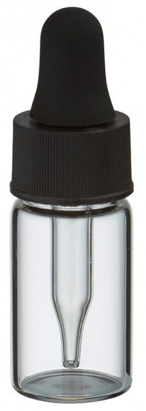 UNiTWIST 3ml klare Mini Pipettenflasche s/s