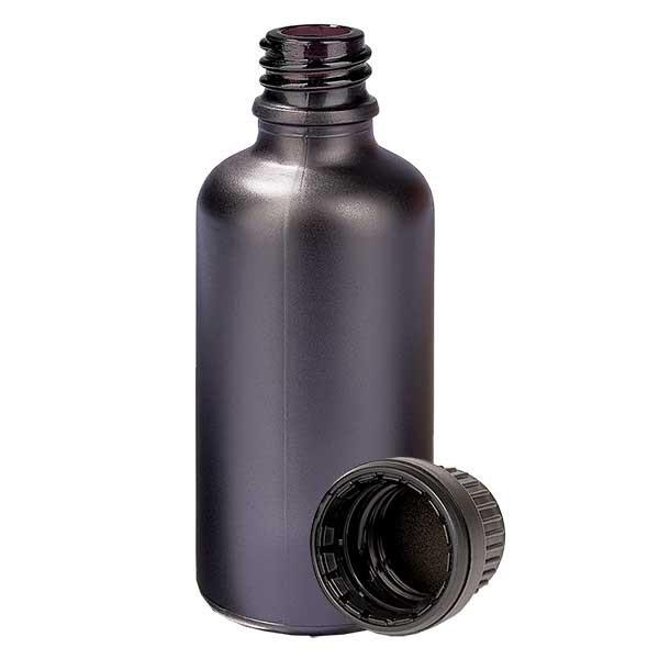 50ml Flasche 11mm SV OV BlackLine UT18/50 UNiTWIST