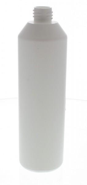 PET Zylinderflasche 250ml weiss, S20x3, ohne Verschluss