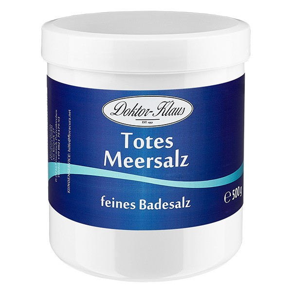 500g Totes Meer Badesalz Premium Doktor-Klaus
