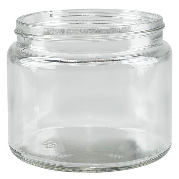 Salbenglas (Glastiegel) 250 ml klar, ohne Deckel