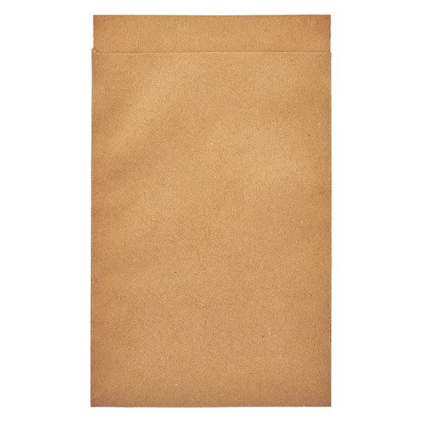 100 Papierbeutel 75 x 102 + 16 mm Klappe