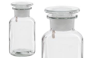 Bild Hohe QualitäT Und Preiswert Gem Alte Apothekerflaschen Braunglas Geschliffene Glasstopfen