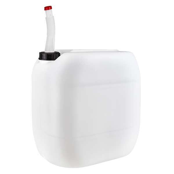 Kanister 30 Liter mit Auslaufrohr flex